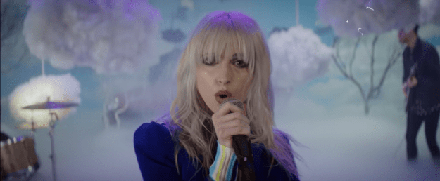 Whoa, whoa, whoa. Guys. Are you sitting down? You should sit down, and turn your speakers up, because Paramore just dropped their first new single in like four years.