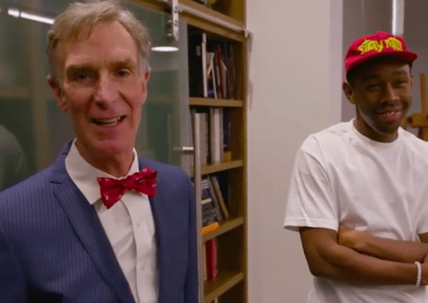 Well, he's returning to Netflix with a new special called Bill Nye Saves the World and he called on Tyler, the Creator to help him finesse the theme song.
