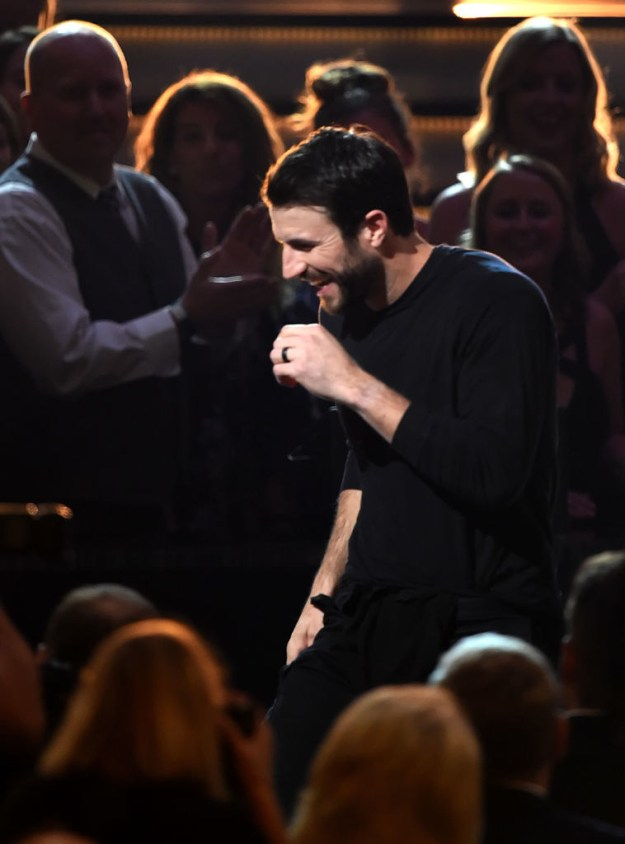 There was something INTERESTING people seemed to notice about Sam Hunt's performance at the ACM Awards in Las Vegas on Sunday…
