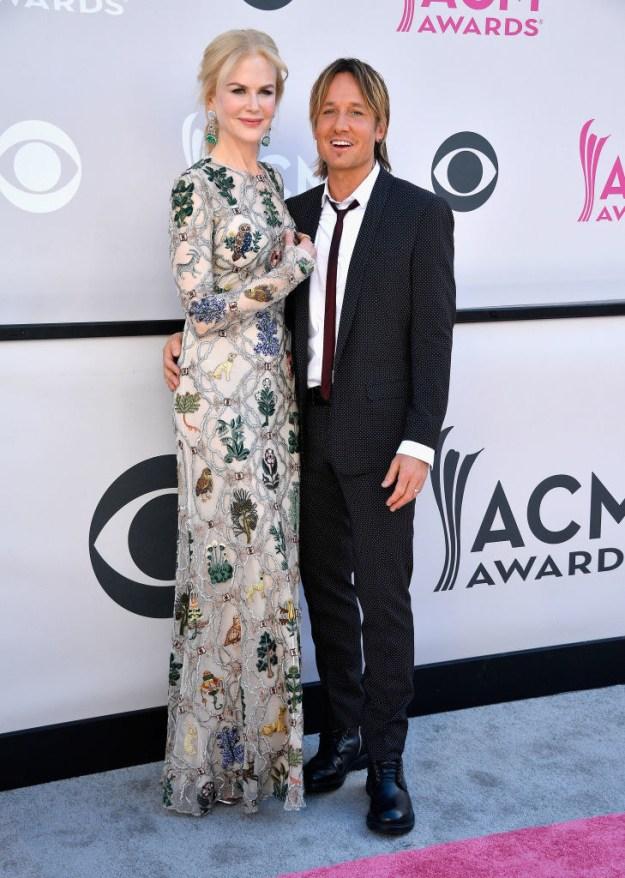 Well, Sunday night she accompanied hubby Keith Urban to the ACM Awards.