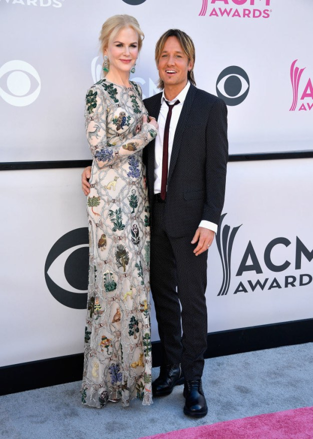 Well, Sunday night she accompanied hubby Keith Urban to the ACM Awards.