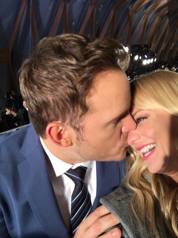 The Earth is round, the sky is blue, and Anna Faris and Chris Pratt are being adorable again.