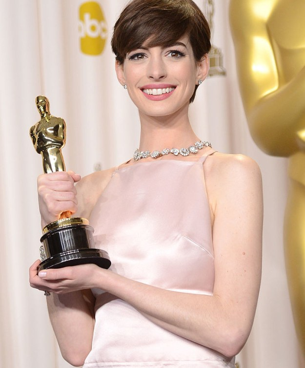 You know Anne Hathaway. She's an Oscar winner, has a squeaky clean image, and is basically the human version of vanilla ice cream.