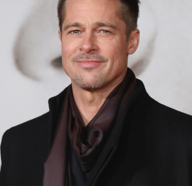 Brad Pitt used to dress up as the chicken mascot for El Pollo Loco and later nabbed a job as a chauffeur for strippers.