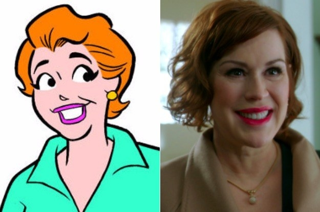 Mary Andrews (Played by Molly Ringwald)