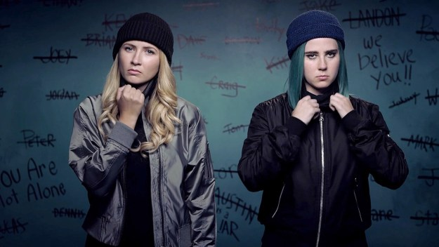 """The fictional series followed two young women who acted as vigilantes against rapists on their college campus. An MTV spokesperson also offered a statement, writing that the network is """"extremely proud of this critically acclaimed series"""" and """"deeply disappointed such an impactful show did not find a larger audience."""""""