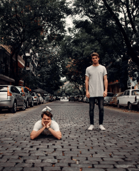 "The Chainsmokers. You probs know them. They're the DJ duo behind hits such as ""#Selfie,"" ""Don't Let Me Down,"" and of course, ""Closer."""