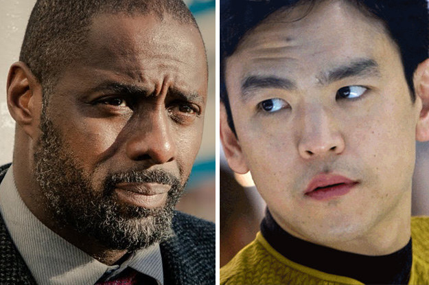 Idris Elba and John Cho: