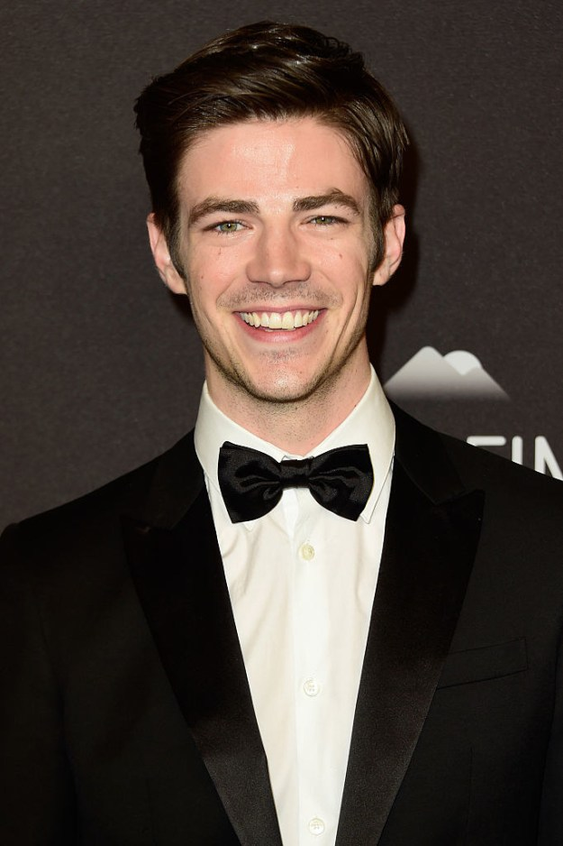 Grant Gustin is the very hot actor who sang his way into your heart on Glee. He's currently the Flash on CW's...The Flash. He is still very hot.