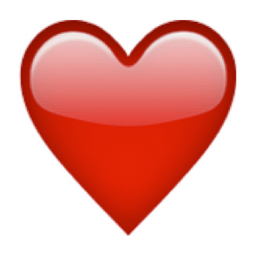 That's right, men! Gone are the days of having to use this GIRLY heart emoji: