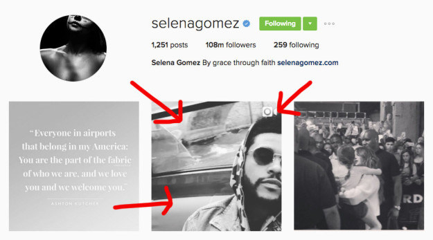 You see up until now, the only photos of the couple were from paparazzi shots. Then, there was that one time Selena posted a video of her dude only to delete it a hot sec later.