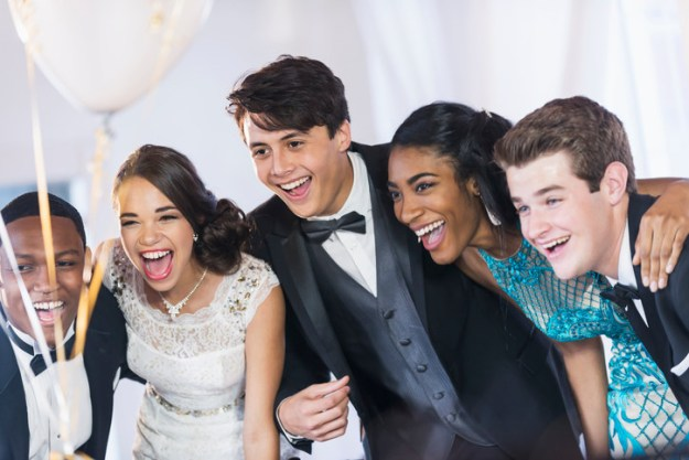 Ah, prom. Do you remember yours? There was probably a lot of awkward dancing, satin dresses, and clandestine sips of flasks throughout the night.