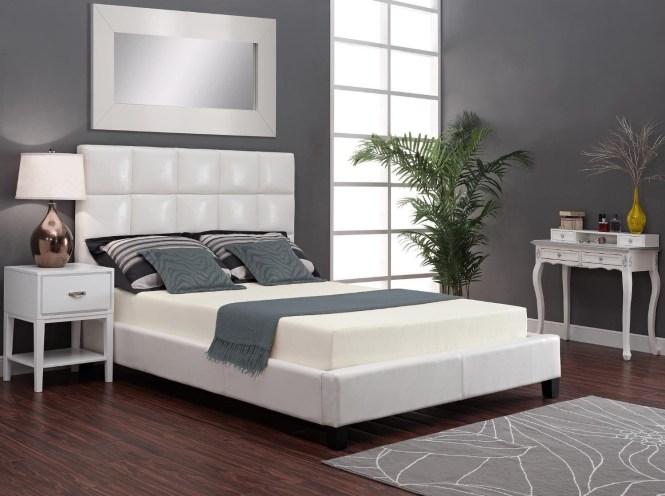 4 This Low Voc Memory Foam Model That Ships Rolled Up But Puffs To A Firm Sleeper