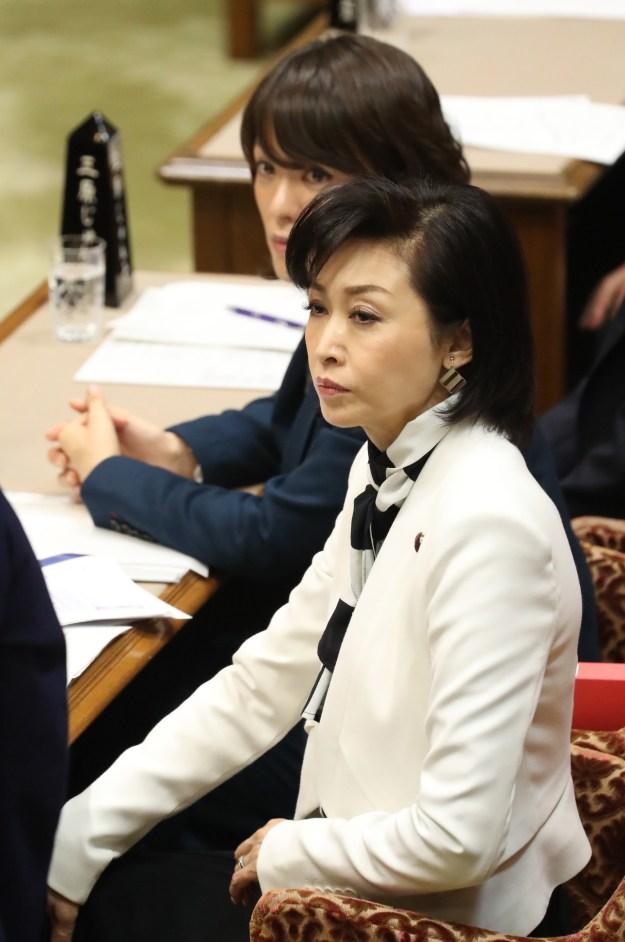 ヤジを飛ばされた自民党参院議員の三原じゅん子氏