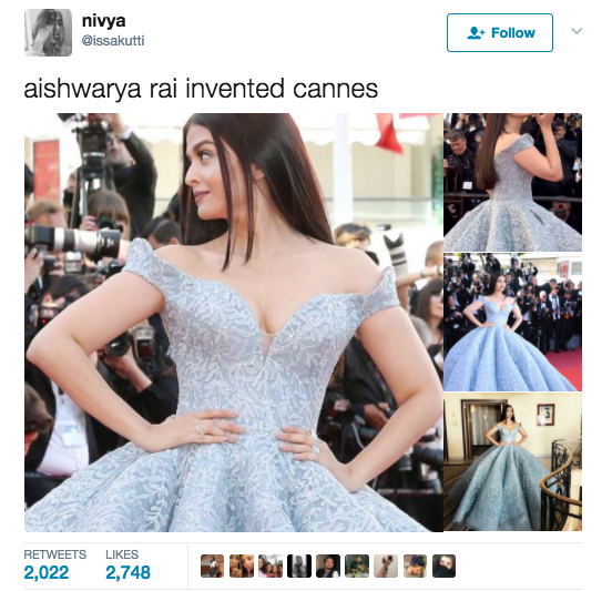 And everyone was in agreement. Aishwarya Rai Bachchan is i c o n i c in every sense of the word.