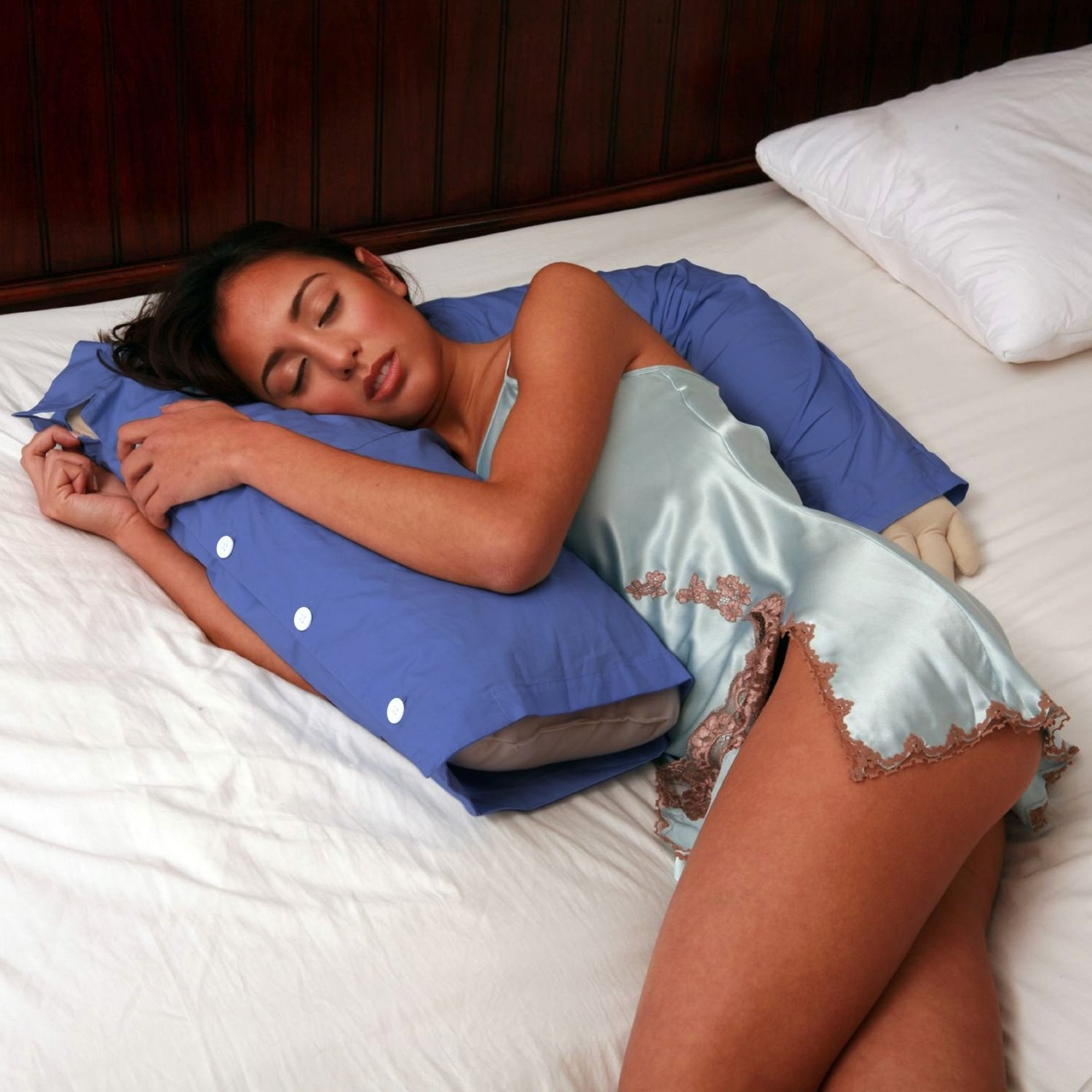 19 body pillows to cuddle instead of an