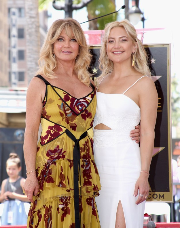 "Kate Hudson was there to honor her parents, too, and praised their tight-knit family. ""Somehow they've managed to maintain a sense of normalcy and closeness with every one of their children — something my mom would say was the only job she refused to fail at."""