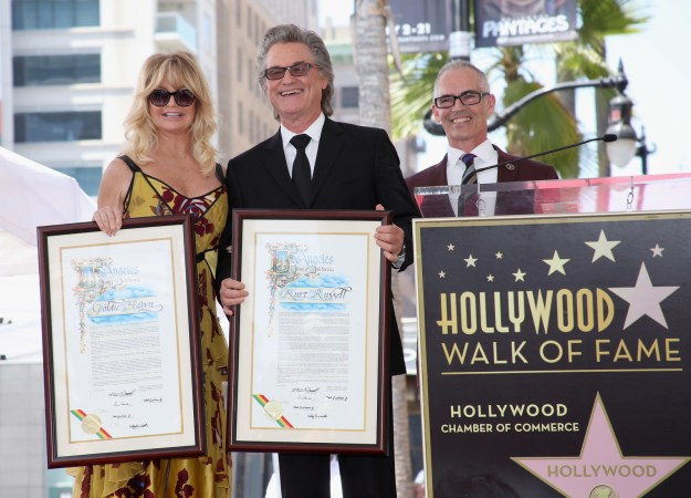 This week, longtime couple and all-around Hollywood greats Goldie Hawn and Kurt Russell received stars on the Hollywood Walk of Fame.