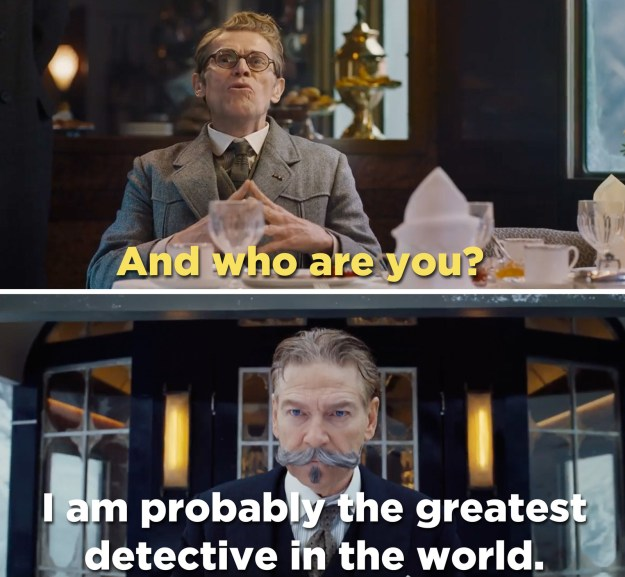 Branagh, who also stars as the great detective Hercule Poirot, must identify the murderer before he or she strikes again.