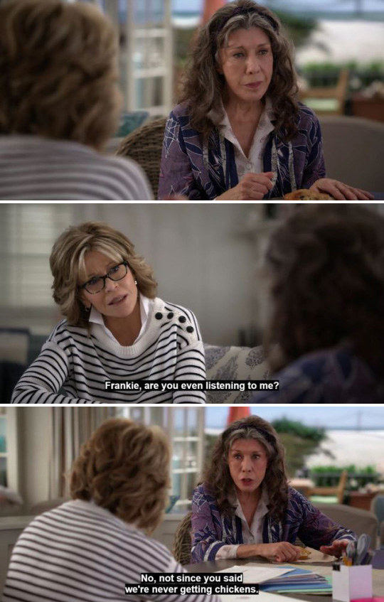 Grace And Frankie Quotes : grace, frankie, quotes, Times, Grace, Frankie, Actually, Iconic