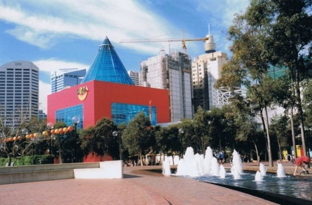 You remember back in the day when Darling Harbour had Sega World...