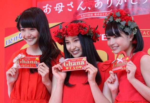2014年5月には、松井愛莉さん・土屋太鳳さんと共にガーナチョコレートのCMに出演。