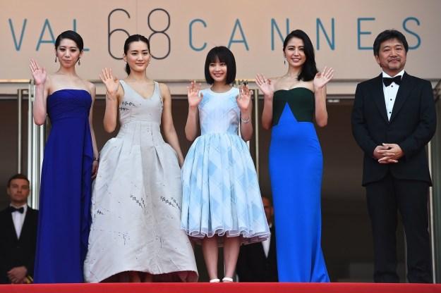 その3カ月後には、映画「海街ダイアリー」で初めてのカンヌ国際映画祭へ。