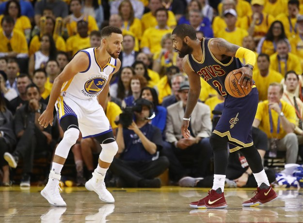 If you're like me, you might not have known last night was Game 1 of the NBA Finals between the Cleveland Cavaliers (LeBron!!! Even *I* know him!) and the Golden State Warriors.
