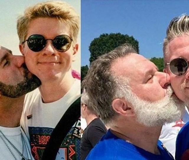 This Gay Couple Re Created Their Pride Photo 24 Years Later And It Has People Emotional