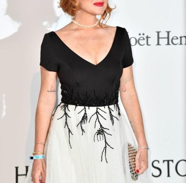 This is Lindsay Lohan.