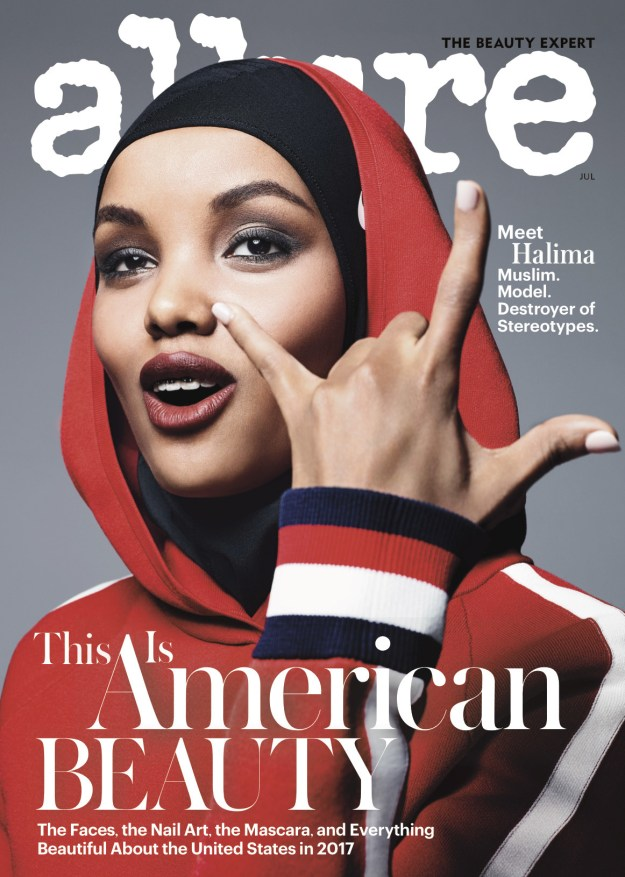 For Allure magazine's American beauty edition this month, Somali-American model Halima Aden was the cover star.