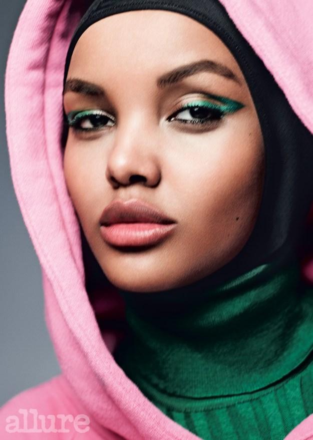 "Halima said she is ""beyond grateful"" for the shoot."
