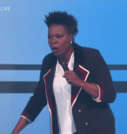 So Leslie Jones hosted the BET Awards Sunday night, and obviously her opening monologue was 🔥 .