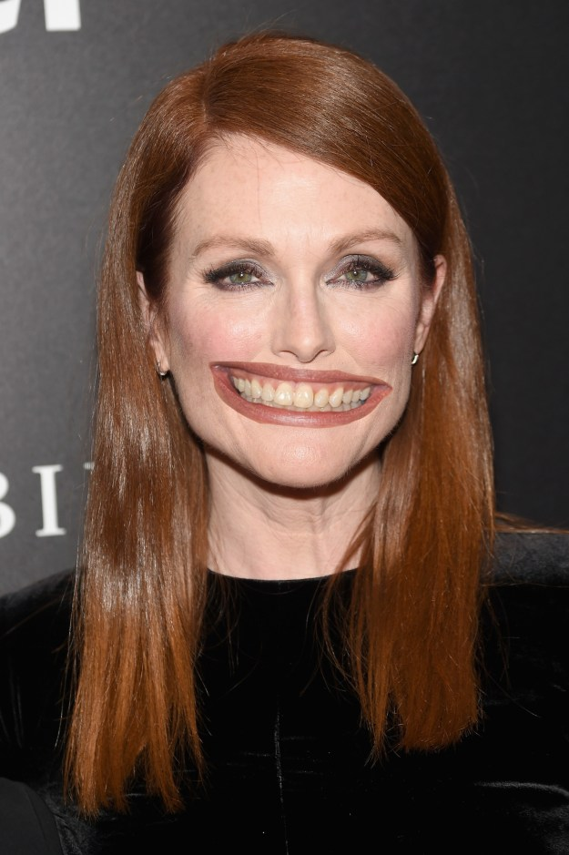 Julianne Moore with Julia Roberts' mouth!