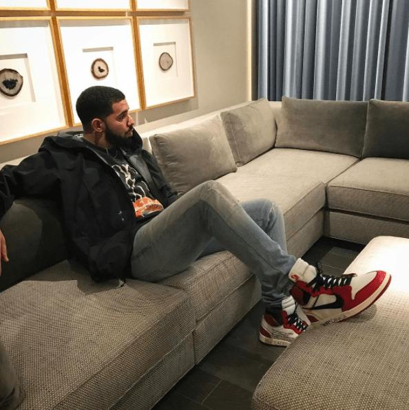 Drake gazed.