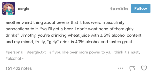 This truth about beer: