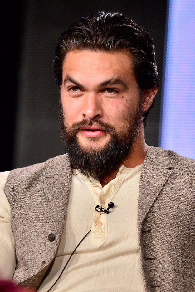 This is Jason Momoa and he's clearly hideous.