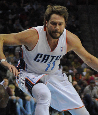 This the NBA's Josh McRoberts.