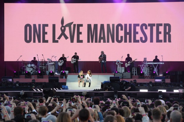 On Sunday night Ariana Grande held a star-studded benefit concert called One Love Manchester. It was held to help raise funds for the victims and families affected by the attacks at her concert in the city on 22 May.