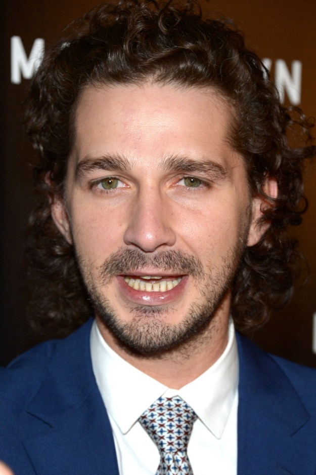 This is Shia LaBeouf. Or...is it????