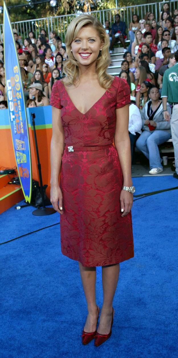 Tara Reid at the Teen Choice Awards: