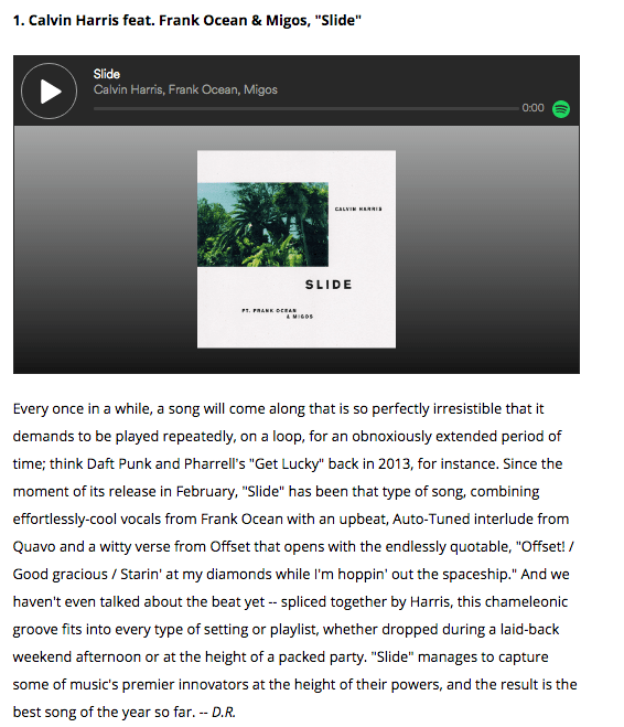 """With Billboard already naming """"Slide"""" as the best song of 2017 so far..."""