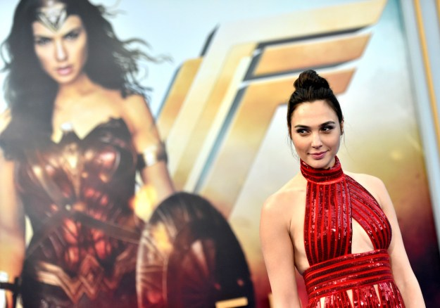 This is Gal Gadot. She's the star of Wonder Woman and a more-or-less perfect human being. You probably already knew both of those things.