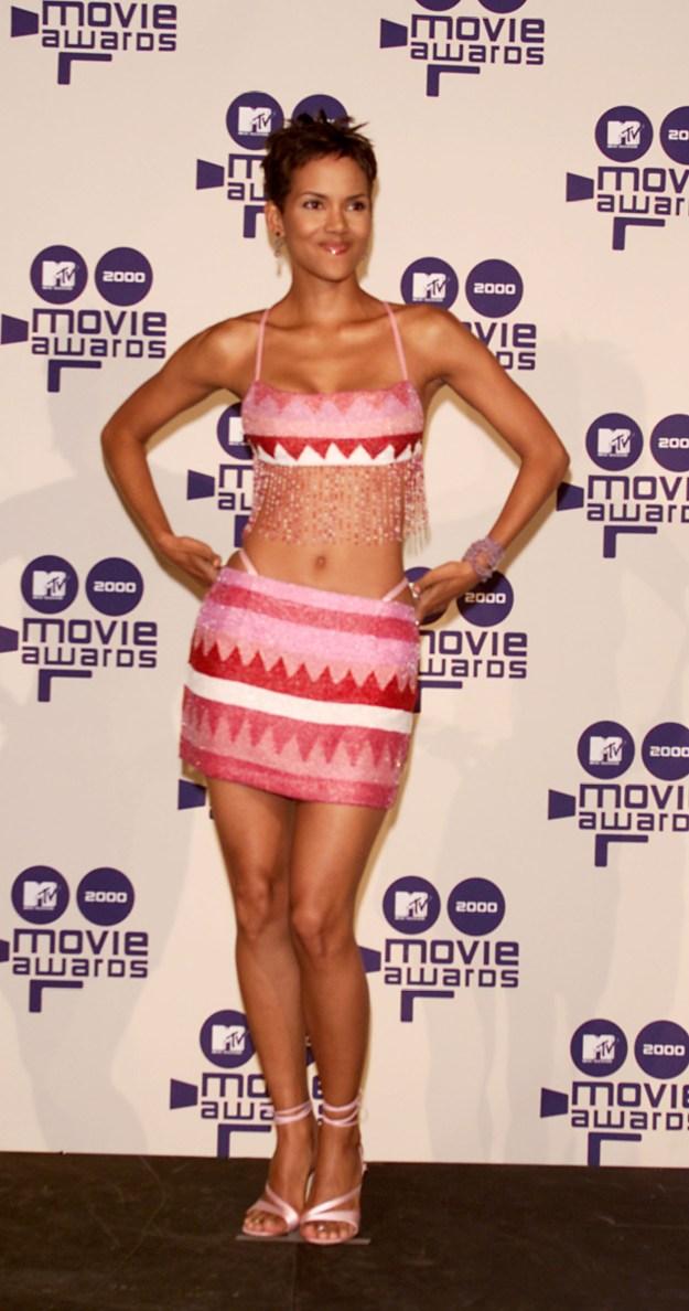 Halle Berry's fringe thing: