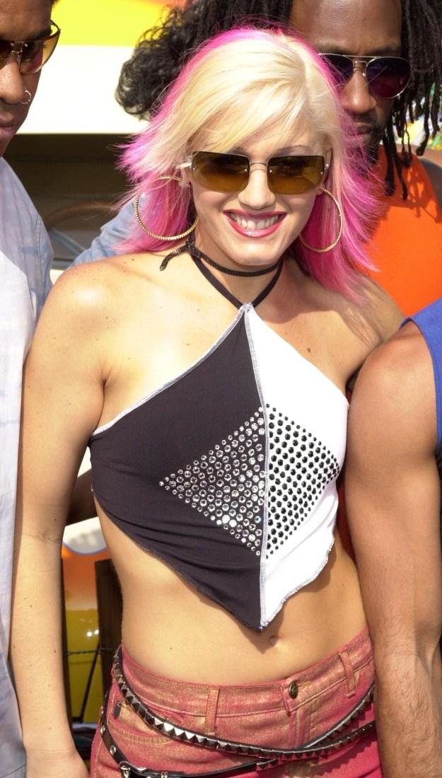 Gwen Stefani's bedazzled handkerchief: