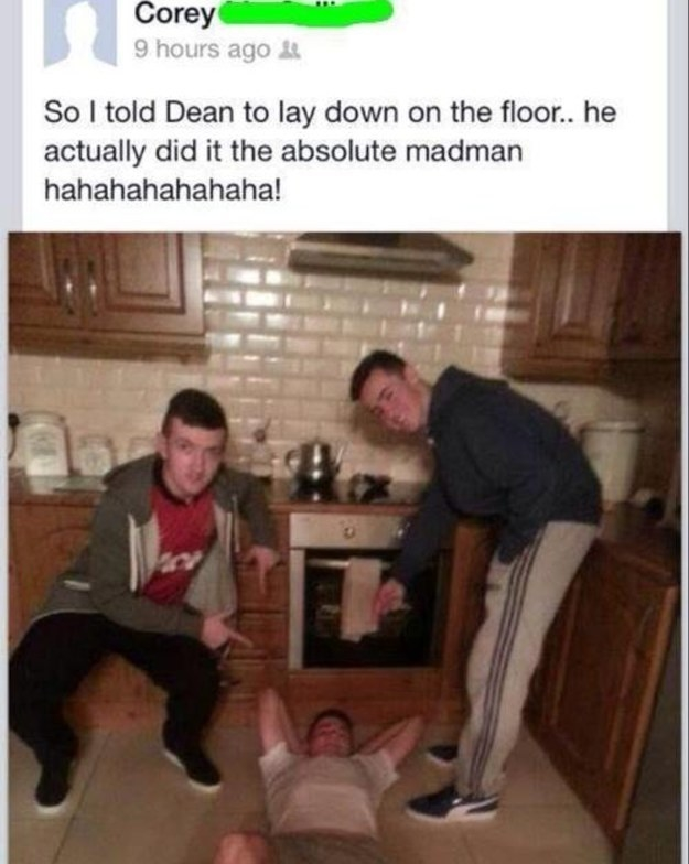 Dean's a LEGEND.