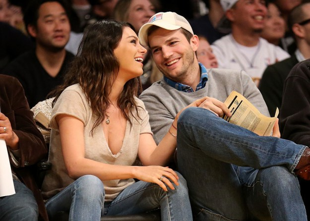 If you're anything like me, you Google photos of Ashton Kutcher and Mila Kunis all the time because THAT'S TRUE LOVE: