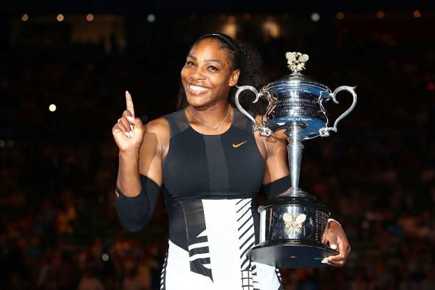 Queen of tennis.