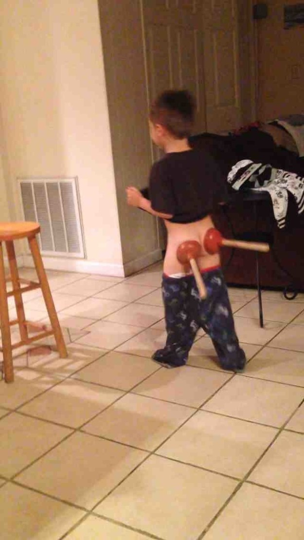 We're not sure where this kid is going...