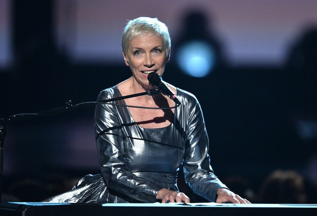 This, dear reader, is Annie Lennox. Now a solo artist, she was once a member of '80s duo The Eurythmics. She has won four Grammys, eight BRIT awards, a Golden Globe, and an Oscar.